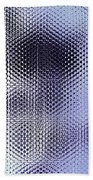 Metallic Weaving Pattern Bath Towel