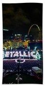 Metallica In Stl Bath Towel