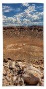 Meteor Crater Bath Towel