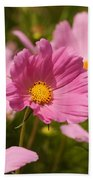 Mexican Aster Flowers 2 Bath Towel