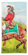 Mexican Horse Soldiers Bath Towel