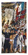Mexico: 1810 Revolution Bath Towel