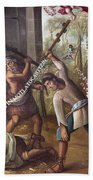 Mexico: Christian Martyrs Bath Towel