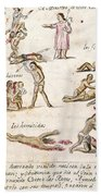 Mexico: Indian Punishments Hand Towel