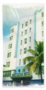 Miami South Beach Ocean Drive 4 Bath Towel