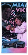 Miami Vice Bath Towel