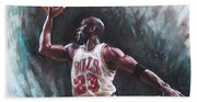 Michael Jordan Bath Towel