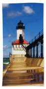 Michigan City Light 1 Bath Towel