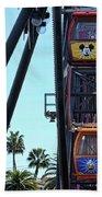 Mickey Donald Ferris Wheel California  Bath Towel