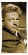 Mickey Rooney, Actor Bath Towel