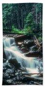 Middle Fork Red River Falls Bath Towel