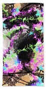 Mighty Mouse - Abstract Bath Towel