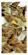 Migration Of The Starlings Bath Towel