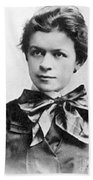 Mileva Maric (1875-1948) Bath Towel