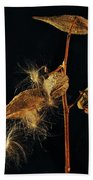 Milkweed Pods Bath Towel