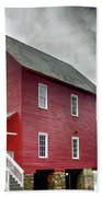 Mill At Whitewater Cree Bath Towel