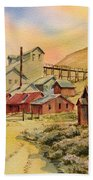 Mill Bodie Ghost Town California Hand Towel