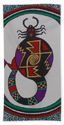 Mimbres Inspired #8a Hand Towel