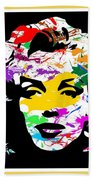 Mind Altering Marilyn Bath Towel