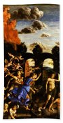 Minerva Chasing The Vices From The Garden Of Virtue 1502 Bath Towel