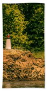 Mini Lighthouse Bath Towel