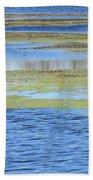 Brazos Bend Wetland Abstract Bath Towel