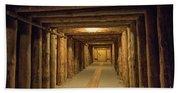 Mining Tunnel Bath Towel