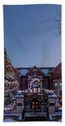 Christmas Lights Series #6 - Minnesota Governor's Mansion Hand Towel