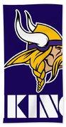 Minnesota Vikings Bath Towel