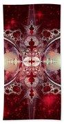 Mirror Gateway / Crop / Red Stars Hand Towel