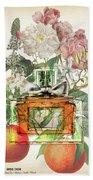 Miss Dior Notes 1 - By Diana Van Bath Towel