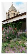 Mission Bells And Garden Bath Towel