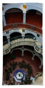 Mission Inn Circular Stairway Bath Towel