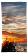 Mississippi Gulf Coast Sunset Hand Towel