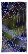 Mist In The Web  Bath Towel