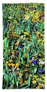 Mixed Wildflowers In Texas Hand Towel