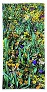 Mixed Wildflowers In Texas Bath Towel