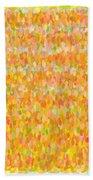 Modern Abstract Pointilist Color Combination 1 Bath Towel