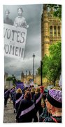 Modern Day Suffrage Bath Towel