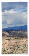 Mojave Desert Route 66 Bath Towel