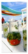 Mojitos On The Beach- Punta Cana Bath Towel