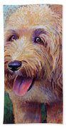 Mojo The Shaggy Dog Bath Towel