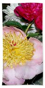 Mom's Peonies Bath Towel