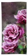 Moms Roses Bath Towel