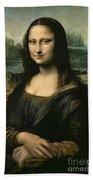 Mona Lisa Bath Towel