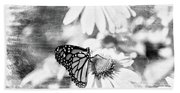 Monarch Butterfly Art 2 Bath Towel