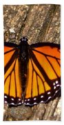 Monarch Butterfly II Bath Towel
