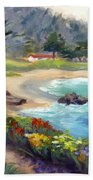 Monastery Beach, Carmel Bath Towel