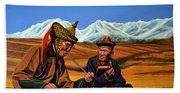 Mongolia Land Of The Eternal Blue Sky Hand Towel