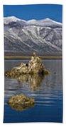 Mono Lake Pano Bath Towel